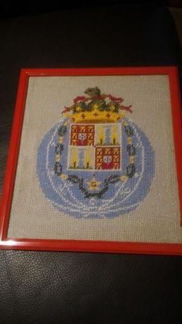 Quadro FC Porto em tecido feito à mão