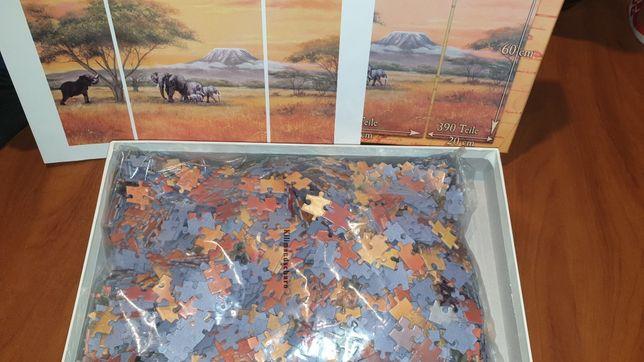 Nowe Puzzle Weltbild ;Kilimandscharo 1530szt. 80/60cm.