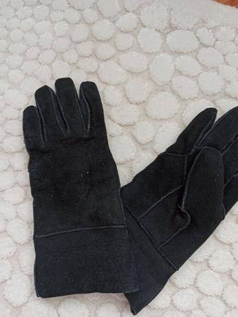 Перчатки из дублёнки