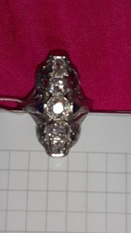 Кольцо платина, алмазы Франция начало 1910г.