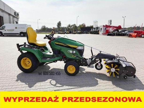 NOWY John Deere X590 Kosiarka Traktorek Ogrodowy Ciągnik ZAMIATARKA