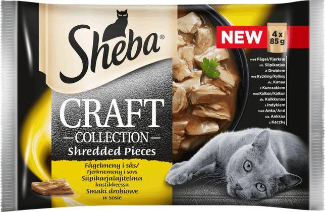 SHEBA CRAFT Smaki Drobiowe 4x85g