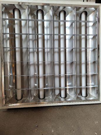 Panel świetlówkowy 60x60 oświetlenie świetlówkowe podtynkowe 600x600
