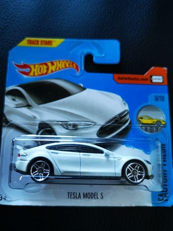 Tesla model S hot wheels novo com portes incluídos