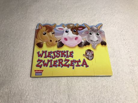 Książka z serii Otwórz okienko - Wiejskie zwierzęta