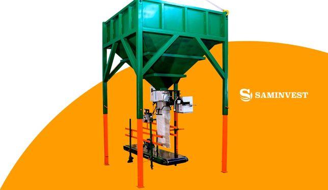 Линия фасовки в мешки 10-50 кг (фасовочное оборудование)