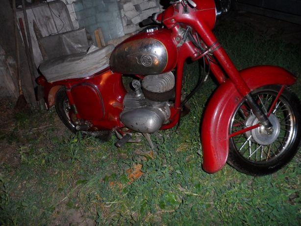 Мотоцикл чезет ЧЗ 175 250 запчасти мотороллер ява