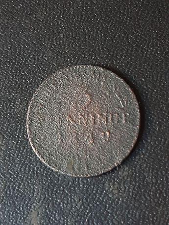 3 пфенниг 1849 года
