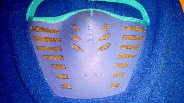Балаклава теплая с маской флисовая с вентиляцией AIR FLOW