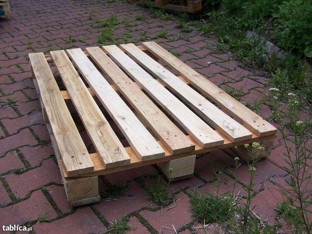 Paleta drewniana ŚLĄSK DOWÓZ Palety jednorazowe