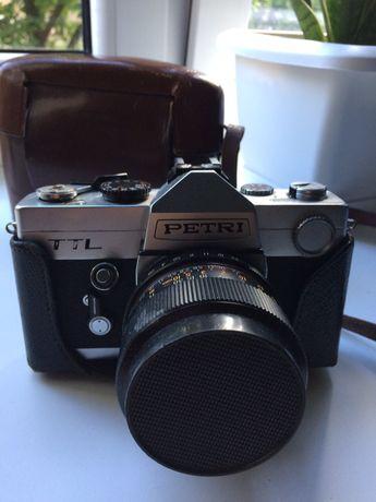 Petri ttl aparat analogowy 35 mm aparaty analogowe