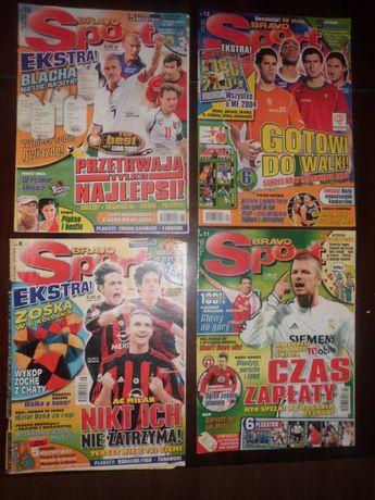 Gazety bravo sport od 2002r do 2010r
