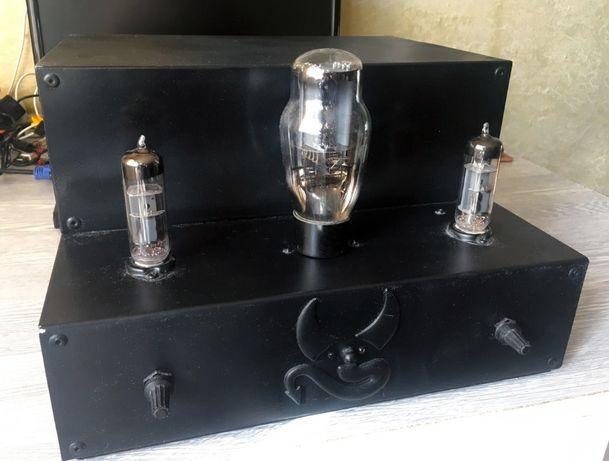 Ламповый стерео усилитель, ручной работы