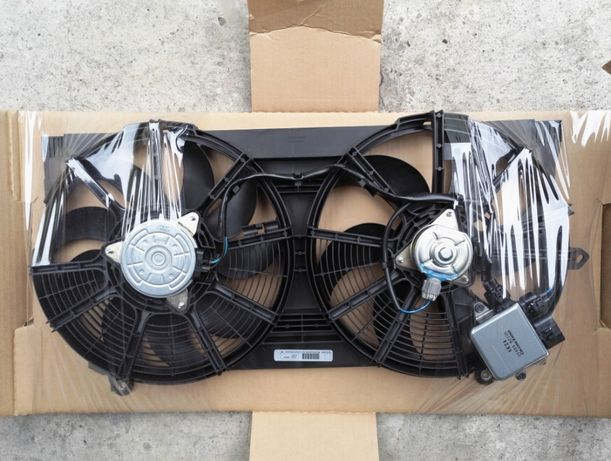 Диффузор, вентиляторы, радиатор, рамка, бачок Nissan leaf 2018