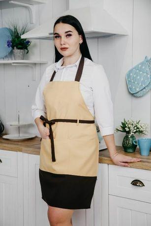 Фартук для продавцов, официантов, горничных | Фартух жіночий