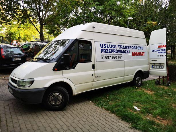 Transport Przeprowadzki doświadczona ekipa