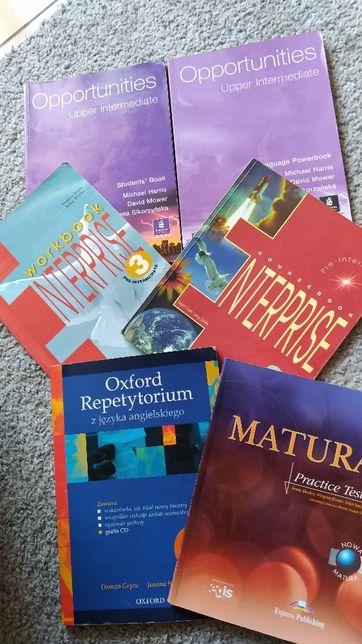 Książki do języka angielskiego, matura, liceum