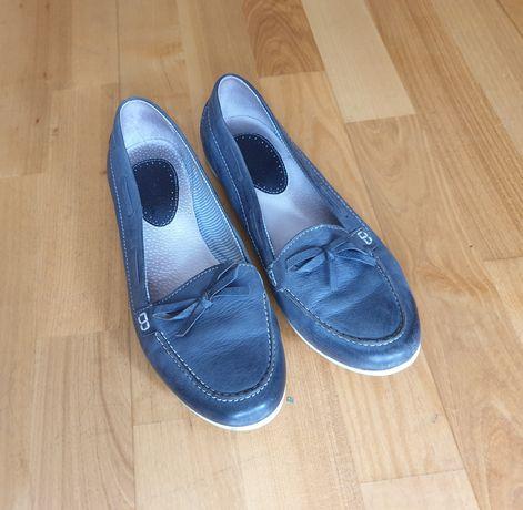 Niebiesko-szare półbuty Lasocki r. 37 w idealnym stanie