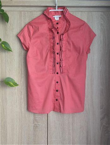 Morelowa/Różowa Koszula L/40
