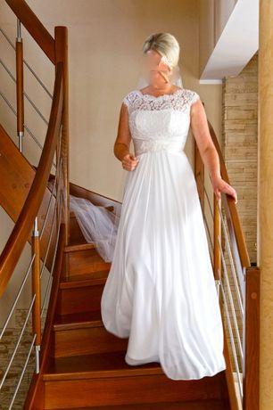Suknia ślubna r. 40-42