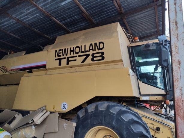 Kombajn New Holland TF 78 cx tc tx cr