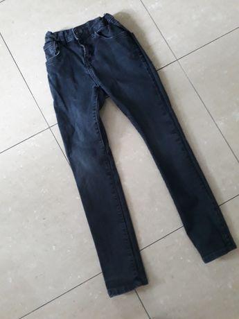 Spodnie ZARA r. 128 cm JEANS chłopięce, rurki, slim