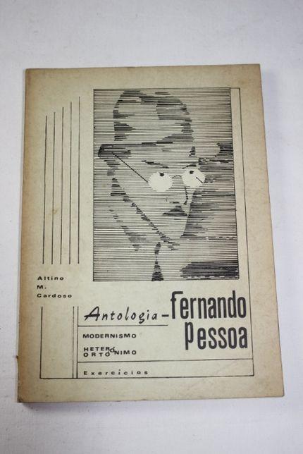 Livro Poesia-Antologia Fernando Pessoa-Altino M. Cardoso-Assinado-1980