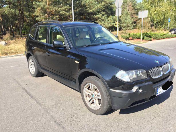 BMW X3 e83, 2.0d , 2005, pochodzenie Niemcy, Bezwypadkowy, beżow skóry