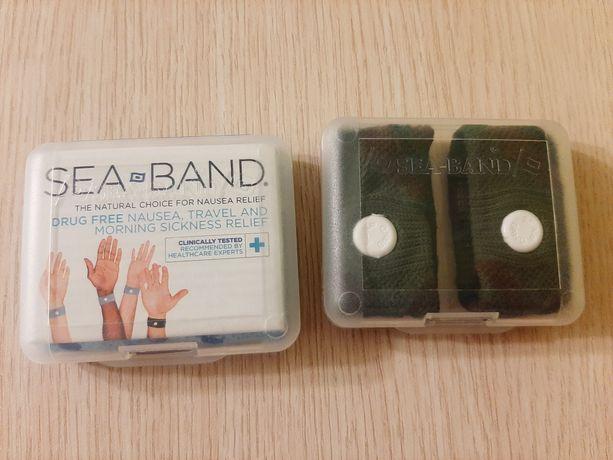 Opaski akupresurowe Sea-band przeciw mdłościom