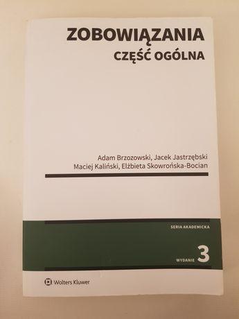 Podręcznik prawo cywilne Zobowiązania część ogólna