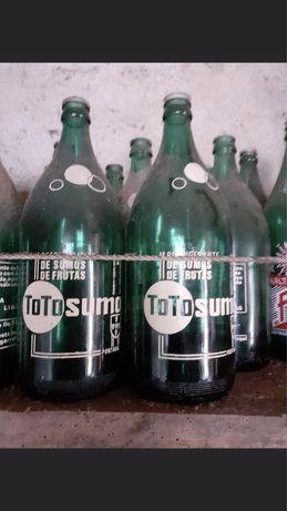 Garrafas pirogravadas vintage Totosumo