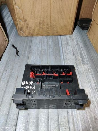 1K0937049K Caixa De Fusiveis Vw Golf V 5 Passat Touran Seat Leon Altea Caddy Modulo conforto