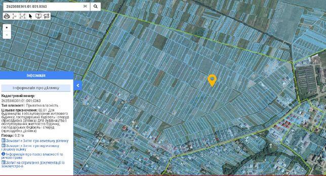 земельна ділянка, участок (зелене господарство) район Чукалівка