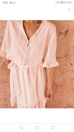 Nowa sukienka Wildflower brand śmietankowa