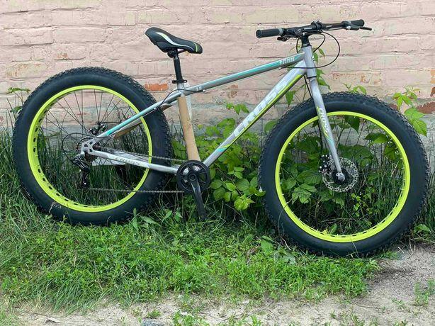 ТОП ПРОДАЖ! Велосипед фэтбайк fatbike cross tank 2021, фетбайк