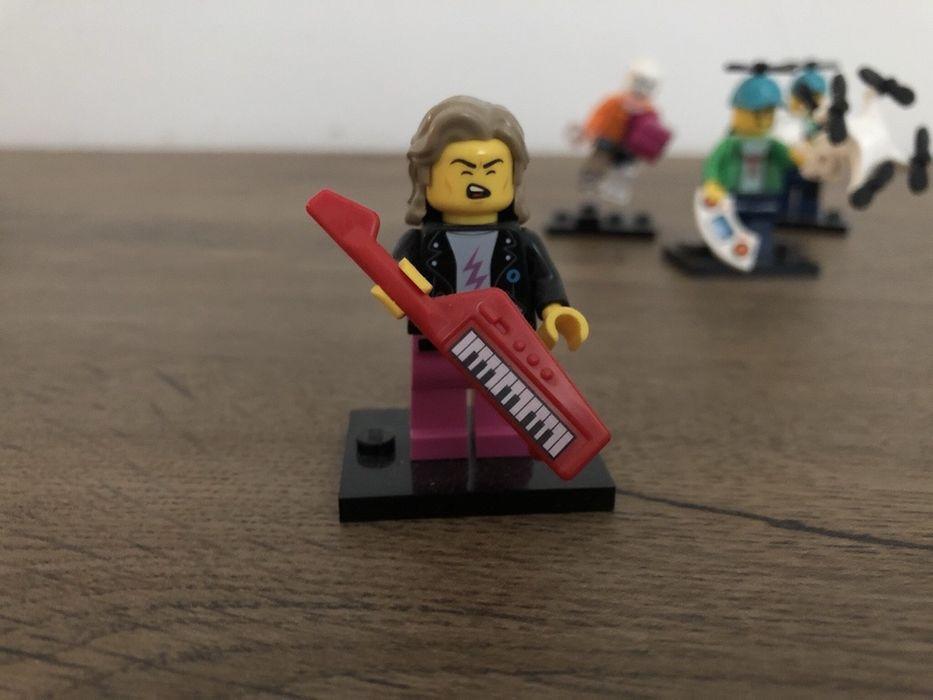 LEGO Minifigures 71027 Seria 20 Muzyk z Lat 80' Jaworzno - image 1