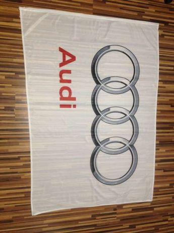 Flaga audi 140x100 A6 A4 A3 nie vw BMW