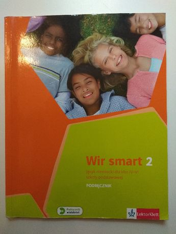 Wir smart 2 - książka + CD - język niemiecki dla klas IV-VI
