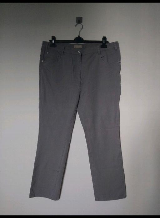Szare spodnie POLO 24 XXXL plus size Warszawa - image 1