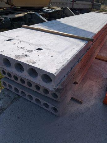 Плити Перекриття Залізобетонні Полегшені (висота-16см).Вага 1м=270кг
