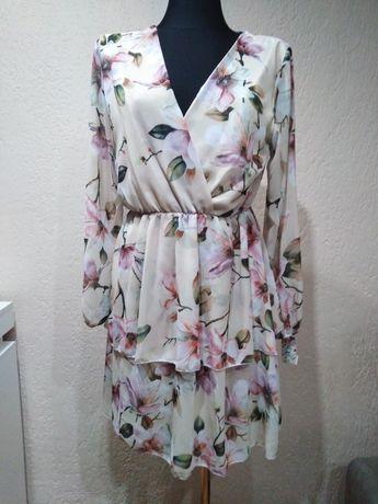 Nowa sukienka w kwiaty S/M