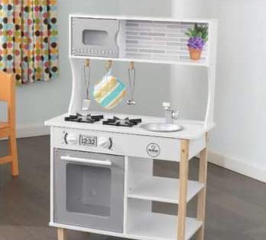 Kuchnia dla dzieci Kidkraft drewniana Dębica - image 1