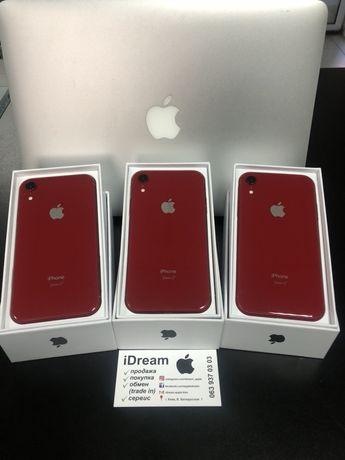 Apple iPhone Xr 64/128 gb Red КАК НОВЫЕ ! ГАРАНТИЯ от МАГАЗИНА и APPLE