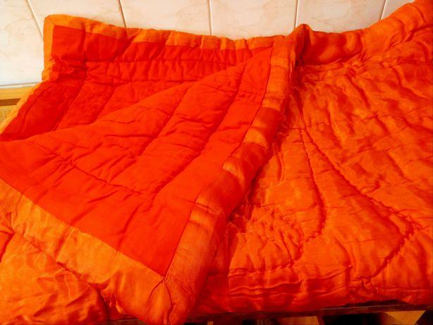Теплое зимнее одеяло на овчине из СССР (150х210)