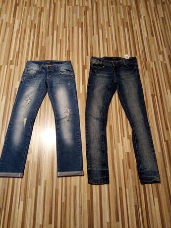 Zestaw spodni jeansowych 34