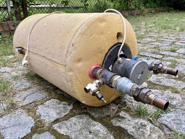 Bojler z wężownicą 80l + grzałka elektryczna 1500W