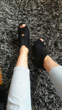 Botki buty z odkrytym palcem 37
