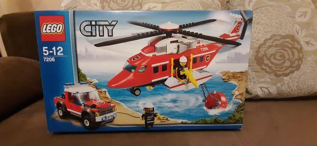 Klocki Lego City 7206 Helikopter straży pożarnej