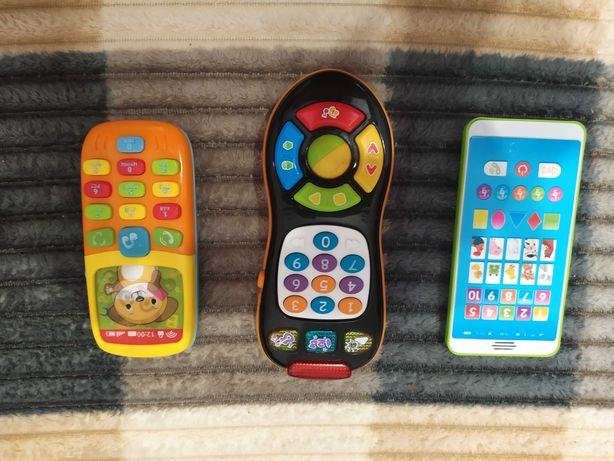 Детский телефон,пульт, смартфон