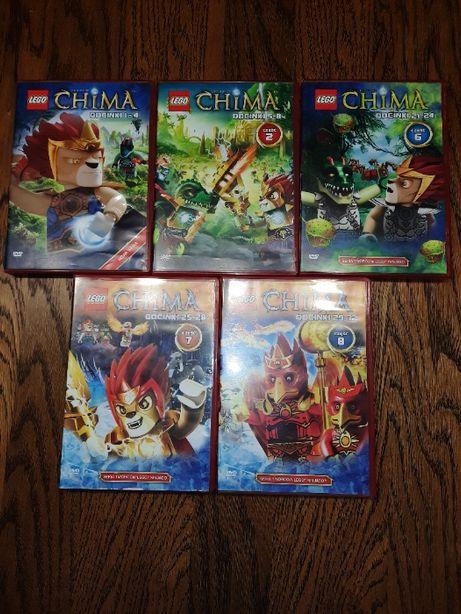 Lego Chima - zestaw płyt DVD - cena za całość